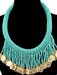Femme Pendentif de collier Colliers chaînes Colliers Déclaration Forme Géométrique Résine AlliageBasique Original Pendant Naturel