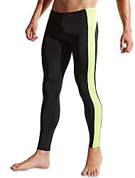 economico -Per uomo Pantaloni da corsa Asciugatura rapida Traspirante Comodo Calze/Collant/Cosciali Pantaloni Corsa Esercizi di fitness Poliestere
