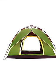 abordables -3-4 personnes Tente Double Tente de camping Tente automatique Etanche pour Camping / Randonnée Autre matériel CM