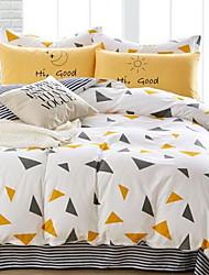 economico -Toile 4 pezzi 1 Copripiumino Copri cuscino (2 pz.) Lenzuolo (1 pz.)