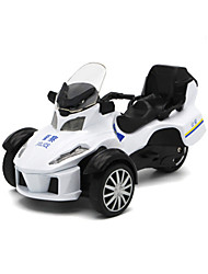 cheap -Toy Cars Toy Motorcycles Beach Toys Pull Back Vehicles Motorcycle Police car Beach & Sand Toy Toys Motorcycle Metal Alloy Pieces Unisex