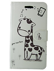 cheap -Case For Samsung Galaxy S8 S7 Card Holder Wallet with Stand Flip Full Body Cases Cartoon Animal Hard PU Leather for S8 S7 S6 edge S6 S5