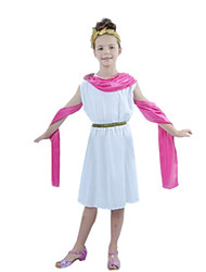 abordables -Cosyumes Romains Costumes égyptiens Cleopatra Cosplay Costume de Cosplay Bal Masqué Costume de Soirée Enfant Fille Halloween Carnaval Le