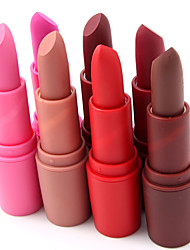 18 Color Hot Sales Lipstick Cosmetic Wet Single Quik Dry