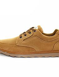 Men's Sneakers Comfort Fall Winter Leatherette Casual Navy Blue Khaki 1in-1 3/4in