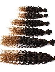 economico -Ricci Jheri Riccio Capelli 100% Kanekalon Ricci intrecciati Trecce di capelli 6