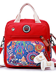 cheap -Women Bags Canvas Shoulder Bag for Casual All Seasons Black Red