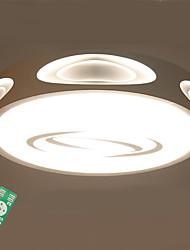 Недорогие -Монтаж заподлицо Рассеянное освещение - Диммируемая, LED, Диммируемый с дистанционным управлением, 220-240Вольт, Диммируемый с / 10-15㎡