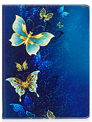 cheap -Case For Apple iPad 4/3/2 iPad Air 2 iPad Air Origami Full Body Cases Butterfly Hard PU Leather for iPad 4/3/2 iPad Air iPad Air 2 iPad