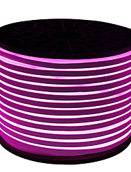 cheap -HKV Flexible LED Light Strips 600 LEDs Purple Cuttable Waterproof 220V 110V