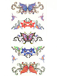 Недорогие -1 pcs Временные тату Временные татуировки Тату с тотемом / Тату с животными Водонепроницаемый Искусство тела руки / рука / запястье
