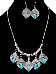 Women's Girls' Drop Earrings Pendant Necklaces Jewelry Personalized Luxury Unique Design Dangling Style Classic Bohemian Basic Friendship