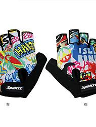 Недорогие -SPAKCT Спортивные перчатки Перчатки для велосипедистов Спортивные перчатки Пригодно для носки Дышащий Прочный Нескользящий Без пальцев