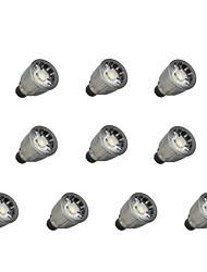 billiga -10pcs 7W 780lm GU10 LED-spotlights 1 LED-pärlor COB Bimbar Varmvit / Kallvit 110-220V