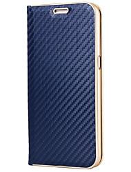 billiga -fodral Till Samsung Galaxy S8 Plus / S8 Korthållare / med stativ / Magnet Fodral Enfärgad Hårt Kolfiber för S8 Plus / S8 / S7 edge