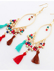 Women's Drop Earrings Basic Unique Design Dangling Style Tassel Friendship Statement Jewelry Africa Durable USA Fashion British Vintage