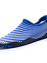 cheap -Men's Shoes PU Spring Fall Comfort Loafers & Slip-Ons Water Shoes for Outdoor Gray Blue