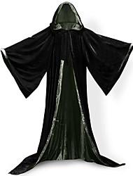 Mago/Strega Costumi da vampiro Cosplay Cappotto Costumi Cosplay Mantello Scopa da strega Accessori Halloween Vestito da Serata Elegante