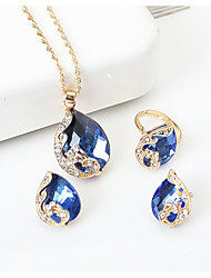 cheap -Women's Jewelry Set - Drop Dangling Style Include Black / Red / Blue For Wedding / Party / Special Occasion / Anniversary / Birthday
