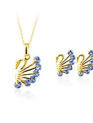 preiswerte -Damen Anhängerketten Kristall Imitierte Perlen Kreisförmiges Geometrisch Anhänger Stil Klassisch Retro Einstellbar Hochzeit Party