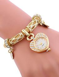 cheap -Women's Ladies' Bracelet Watch Unique Creative Watch Casual Watch Sport Watch Fashion Watch Quartz Alloy Band Charm Luxury Creative