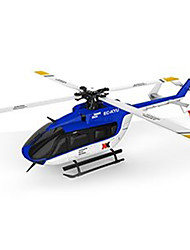 cheap -RC Helicopter WL Toys K124 6CH 6 Axis 2.4G Brushless Electric - Ready-to-go Upside Down Flight Remote Control / RC Flybarless