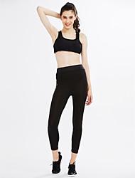 billige -Dame Aktiv Skinny Aktiv Bukser Ensfarvet