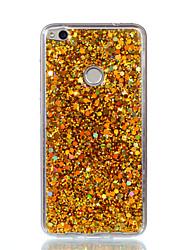economico -Custodia per telefono Huawei p8 lite (2017) p10 lite cassa acrilica scolorita flash polvere telefono p9 lite p8 lite onore 8 / onore 7