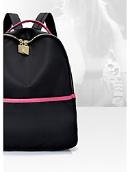 Women Bags All Seasons Oxford Cloth Backpack for Casual Black Gray