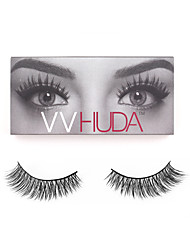VVHUDA LASHES Natural Eyelashes 3D Mink Collection Eyes Fake Lash Black Criss-crossed Soft Hiar Daily Makeup Beauty Tool Farah