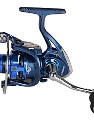 cheap -Fishing Reel Carp Fishing Reels Spinning Reel 5.2:1 Gear Ratio+14 Ball Bearings Hand Orientation Exchangable Sea Fishing Spinning
