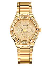 Women's Dress Watch Fashion Watch High Quality Luxury Crystal Diamond Watches Women Gold Watch Steel Strip Rose Gold Sparkling Dress Wristwatch
