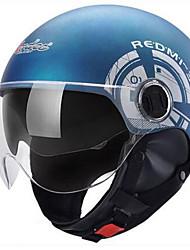 Motorcycle Helmet Electric Car Helmet Summer Four Seasons Winter Half-Style Helmet Sunscreen Warm All-Style