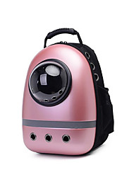 cheap -Cat Dog Carrier & Travel Backpack Pet Carrier Portable Breathable Solid Blushing Pink Purple
