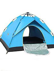 abordables -3-4 personnes Tente Unique Tente de camping Tente pliable Garder au chaud pour Camping / Randonnée Autre matériel CM