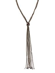 cheap -Women's Geometric Personalized Luxury Vintage Natural Friendship Sideways Euramerican Pendant Necklace Jewelry Alloy Pendant Necklace ,
