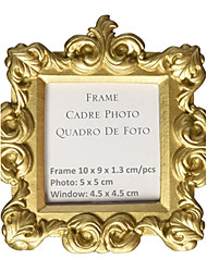 cheap -Gold Baroque Resin Place Card Photo Holder Beter Gifts® DIY Party Decoration