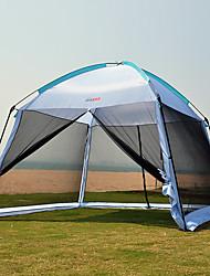 5-8 Pessoas Abrigo para Acampamento Cabana de Praia Tenda Único Barraca de acampamento Um Quarto Tenda Dobrada Resistente Raios