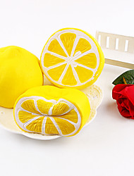 Artificial Lemon Foam Decor Fake Fruits Slow Rebound Toys Simulation Fruit Lemon Model