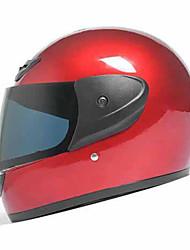 cheap -AD 177-1  Motorcycle Helmet  Electric Locomotive Men And Women Winter Full-Cover Light Warm Collar Collar Helmets  Black Tea Anti-Fog Lenses