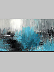 cheap -Hand-Painted Abstract Horizontal, Abstract Modern Canvas Oil Painting Home Decoration One Panel