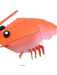 cheap -Halloween Masks Paper Model Toys DIY Square Lobster 3D Hard Card Paper Horror Classic Pieces Not Specified Gift
