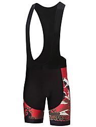 Shorts Bib de Ciclismo Hombre Bicicleta Petos de deporte/Culotte con tirantes Prendas de abajo Ropa para Ciclismo Dispersor de humedad