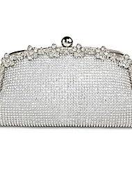 cheap -Women's Bags PC / Metal Evening Bag Metallic Gold / Silver / Wedding Bags