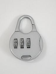 002 bagagem acessórios de bagagem bloqueio senha desbloqueio senha de senha de 3 dígitos bloqueio bloqueio de senha