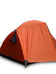 3-4 Pessoas Tenda Duplo Barraca de acampamento Tenda Dobrada Manter Quente Á Prova-de-Chuva para Acampar e Caminhar Outros Material CM