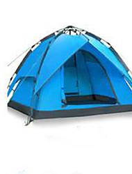abordables -3-4 personnes Tente Tente de camping Tente automatique Etanche pour Camping / Randonnée Autre matériel CM