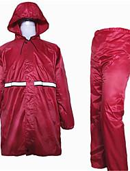 Polyester PVC Raincoat Adult Split Raincoat Rain Pants Suit Motorcycle Battery Car Office Raincoat