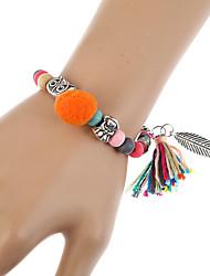 Per donna Bracciali a catena e maglie Bracciali con ciondoli Dell'involucro del braccialetto Di tendenza stile della Boemia TurcoResina