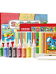 Недорогие -Игрушки для рисования Игрушки Живопись Экологичные Своими руками Квадратный Куски Детские Подарок